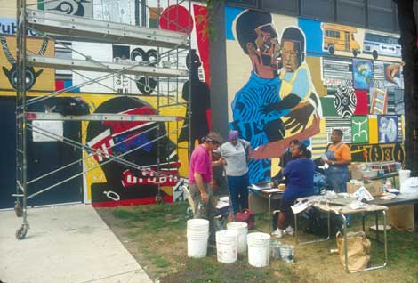 Your Excitement Will Be High As You Near The Completion Of Mural Are Completing An Artistic Statement That Stand In Community For Ten To
